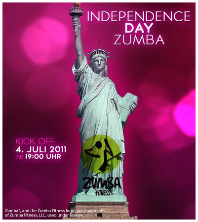 independence day zumba. Black Bedroom Furniture Sets. Home Design Ideas